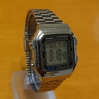 カシオ(CASIO)のCASIO  A178W(腕時計(デジタル))