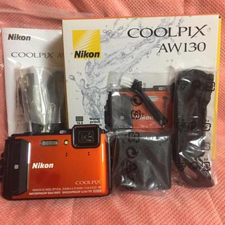 ニコン(Nikon)のAW130 NIKON ニコン  オレンジ(コンパクトデジタルカメラ)