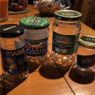 海外 空き瓶 4種類(容器)
