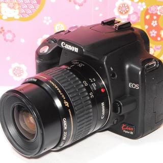 キヤノン(Canon)の❤️始めるならコレ❤️Canon Kiss N レンズキット❤️オマケ付❤️(デジタル一眼)