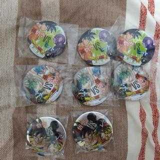 ジャンプビクトリーカーニバル ドラゴンボール バッジ 8個全部で1500円(バッジ/ピンバッジ)