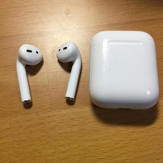 アップル(Apple)の AirPods  充電ケースジャンク(ヘッドフォン/イヤフォン)