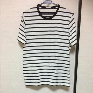 ジーユー(GU)のボーダー半袖Tシャツ(Tシャツ/カットソー(半袖/袖なし))