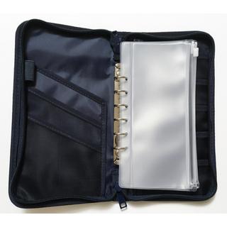 ムジルシリョウヒン(MUJI (無印良品))の無印良品 公式在庫なし パスポートケース クリアポケット2枚き!ラクマ補償付配送(旅行用品)