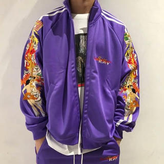OFF-WHITE - doublet 18aw chaos embroidery jacket
