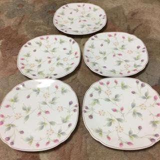 【新品】SANGO 花柄 デザート皿 5枚セット