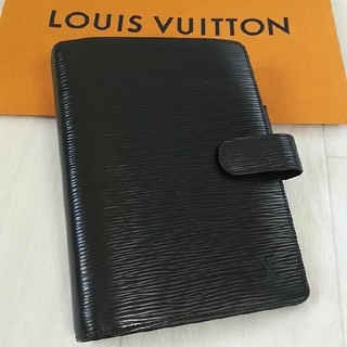 ルイヴィトン(LOUIS VUITTON)の【正規品】ルイヴィトン 手帳カバーMM エピ(手帳)