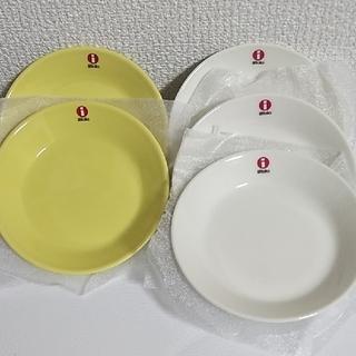イッタラ(iittala)の新品 イッタラ ティーマ 12cm イエロー&ホワイト 計5枚(食器)