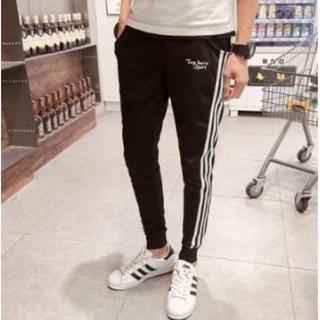 特価 メンズ スキニーパンツ トレーニング ジョガーパンツ 男女兼 黒 XL (サルエルパンツ)