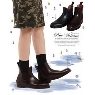 大人気☆レインブーツ レインシューズ 長靴 ブラウン(レインブーツ/長靴)