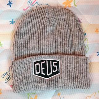 デウスエクスマキナ(Deus ex Machina)のDEUS  ニット帽  未使用(ニット帽/ビーニー)
