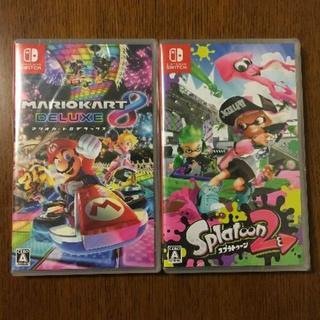 Nintendo Switch - 新品 スプラトゥーン2 & マリオカート8 デラックス ニンテンドー スイッチ