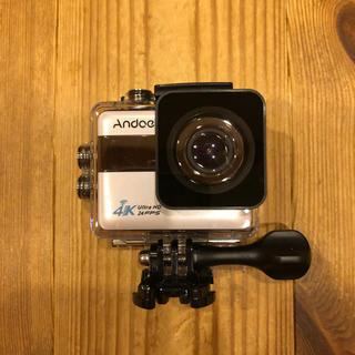 【新品】タッチパネル 4K20MP WiFi 手ぶれ補正 防水 アクションカメラ(ビデオカメラ)