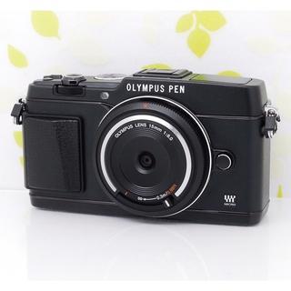 オリンパス(OLYMPUS)の★超カッコイイスタイリッシュカメラ!Wi-Fi機能付☆オリンパス E-P5★(ミラーレス一眼)