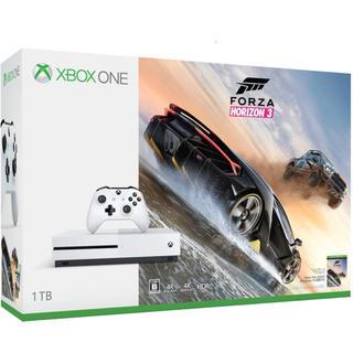 エックスボックス(Xbox)のXbox One S 1TB  Forza Horizon 3 同梱版(家庭用ゲーム本体)