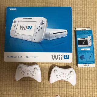 Wii U - wiiU PREMIUM SET 本体 コントローラー付 ホワイト