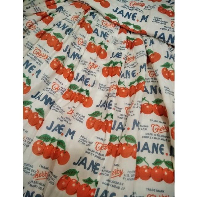 JaneMarple(ジェーンマープル)のジェーンマープルのチェリーのセットアップ レディースのレディース その他(セット/コーデ)の商品写真