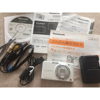 パナソニック(Panasonic)のPanasonicデジカメ LUMIX DMC- FX77(コンパクトデジタルカメラ)