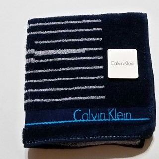 カルバンクライン(Calvin Klein)の新品未使用 カルバンクライン タオルハンカチ (ハンカチ/ポケットチーフ)