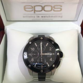 エポス(EPOS)の【EPOS】エポス時計クロノグラフ3388(腕時計(アナログ))