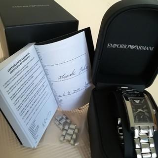 エンポリオアルマーニ(Emporio Armani)のエンポリオ・アルマーニ 腕時計 Black(腕時計(アナログ))