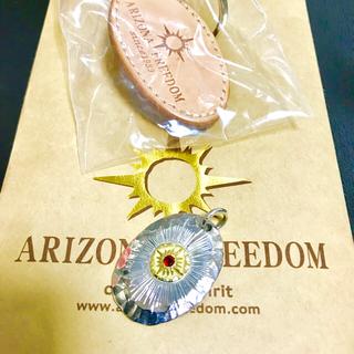 アリゾナフリーダム(ARIZONA FREEDOM)のゴールド 台付太陽神 メタルトップ (ネックレス)