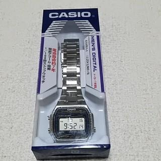 カシオ(CASIO)の【新品・防水】CASIO 腕時計 スタンダード A164WA -1(腕時計(デジタル))