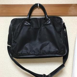 ムジルシリョウヒン(MUJI (無印良品))の無印良品PC収納ポケット内装ビジネスバッグ 黒(ビジネスバッグ)