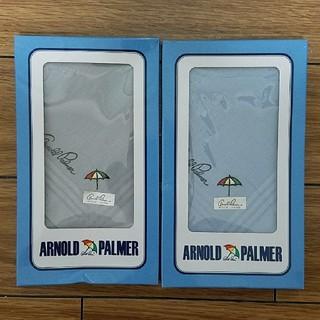 アーノルドパーマー(Arnold Palmer)の【新品・未使用】Arnold Palmer ハンカチ2枚セット(ハンカチ/ポケットチーフ)