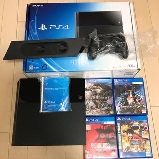 PlayStation4 - PS4本体一式とゲームのセット