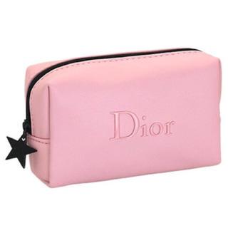 Christian Dior - 数量限定❤️ Dior ノベルティ ポーチ ピンクポーチ 星チャーム 正規品