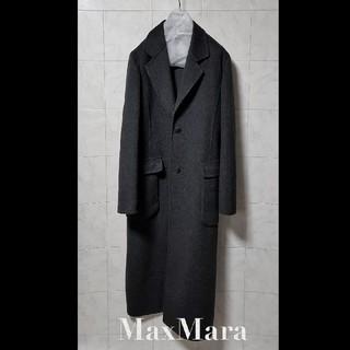 マックスマーラ(Max Mara)のカシミヤ100% 美品 マックスマーラ 最高級一級品 コート セレカジスタイル(チェスターコート)