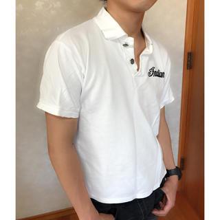インディアン(Indian)のインポート ポロシャツ メンズ sサイズ 白 現品限り 送料無料 廃盤 おしゃれ(ポロシャツ)