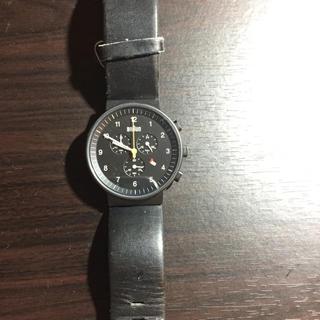 ブラウン(BRAUN)のBRAUN クロノグラフ ウォッチ ブラック(腕時計(アナログ))