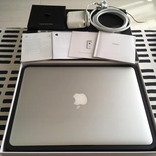 マック(Mac (Apple))のMacBook Air 13-inch Late 2010(ノートPC)