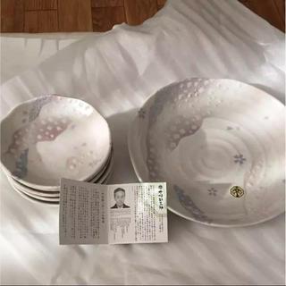 ナカムラヤ(中村屋)の【新品未使用、箱あり】 中村勘三郎さんのお皿 計6枚 (食器)