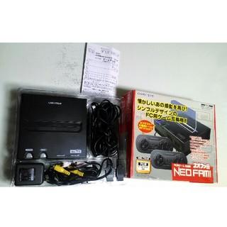 ネオファミ ゲームタッチ 黒 カセット2個おまけ (家庭用ゲームソフト)