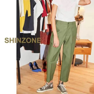 シンゾーン(Shinzone)のゆの*様専用⑅◡̈*shinzone(シンゾーン )ベイカーパンツ シンゾーン(ワークパンツ/カーゴパンツ)