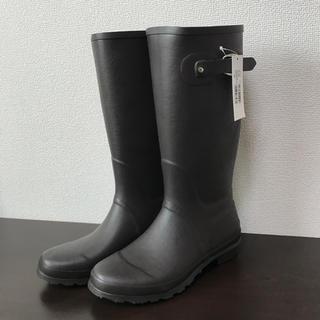 トドス todos 折りたたみ ロング ラバー レインブーツ 長靴(レインブーツ/長靴)