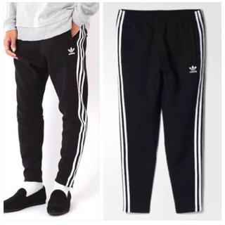 アディダス(adidas)のadidas originals for BEAMS スキニー パンツ 黒白 S(サルエルパンツ)