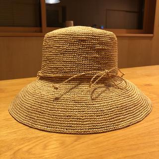 ムジルシリョウヒン(MUJI (無印良品))の無印良品 新品未使用 ヘレンカミンスキー風(麦わら帽子/ストローハット)