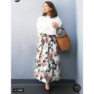 ZARA - ZARA♡花柄スカート