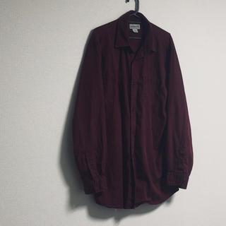 カーハート(carhartt)のcarhartt  ボルドー オーバーサイズ  ビッグシャツ ユニセックス(シャツ)