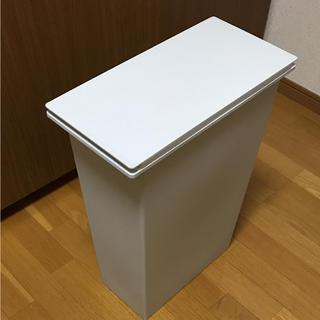 ムジルシリョウヒン(MUJI (無印良品))の美品 無印良品 MUJI ダストボックス ポリプロピレン ゴミ箱 送料込(ごみ箱)