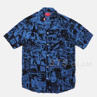 Supreme - Supreme Vibrations Rayon Shirt 【M】