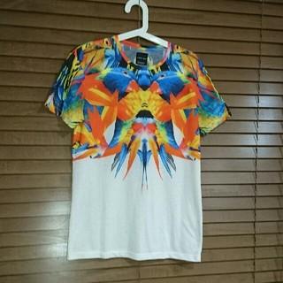 ザラ(ZARA)の31日まで価格 ZARA オウム Tシャツ Sサイズ-(Tシャツ/カットソー(半袖/袖なし))