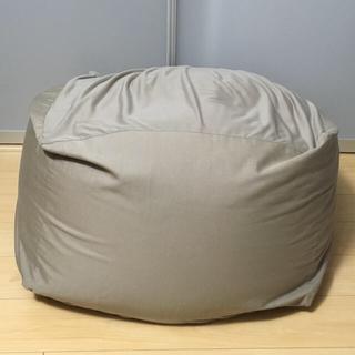 MUJI (無印良品) - 無印良品 体にフィットするソファ グレーベージュ 取説付き 定価15590円