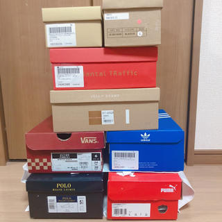 アディダス(adidas)のくつ  空箱(ショップ袋)
