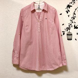 アーノルドパーマー(Arnold Palmer)のアーノルドパーマータイムレス☂︎ 綿100%ストライプシャツ♡(シャツ/ブラウス(長袖/七分))
