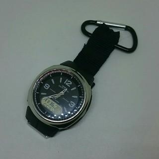 カシオ(CASIO)のCASIO 電波時計 WVA-106HJ +カラビナ wave ceptor(腕時計(アナログ))
